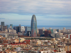 Barcelona Skyline - Expat guide to Spain