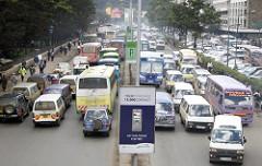 Getting around in Nairobi