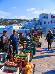 The cost of living has decreased in Greece