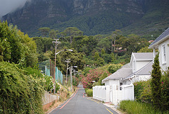 Rondebosch suburb in Cape Town
