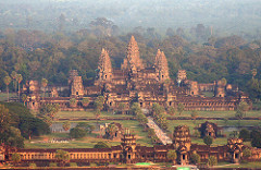 Cambodia is home to many beautiful temples