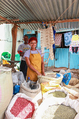 There are many markets in Kenya for expats to do their shopping