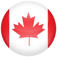 Canadian flag - a welcome sight for expats moving to Canada