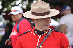 Canadian Mountie - symbol of safety in Canada