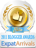 expat arrivals elite blog award