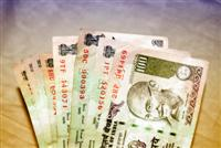 Indian rupees to show cost of living in India