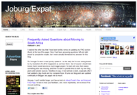 Expat Blog in South Africa - by Sine