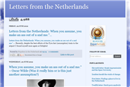 Letters from the Netherlands - an expat blog by Tracey