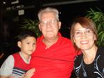 Photo of Malcolm Bugess and family, an American living in Thailand