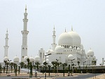 Mosque in Abu Dhabi, Middle East