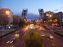 Moving to Madrid - cityscape