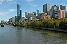 expats moving to melbourne - skyline