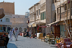 a street in Doha