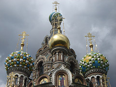 Russian church - seen by expats moving to Russia