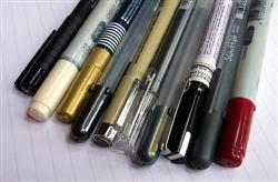 Pens for use in International schools.