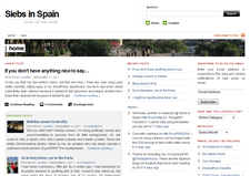 Siebs in Spain - An expat blog about Spain