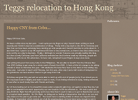 Teggs Relocation to Hong Kong - a Hong Kong Blog