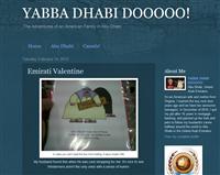 Yabba Dhabi Dooooo! - expat blog in Abu Dhabi