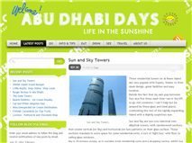 Abu Dhabi Days - an Expat Blog in Abu Dhabi