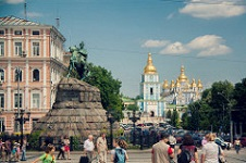Many expats moving to Ukraine settle in the capital of Kiev