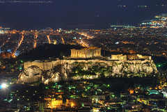 The Acropolis in Athenis by Emilio Garcia