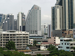Accommodation in Bangkok is varied depending on the area