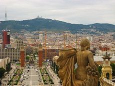 Placa d'Espanya in Barcelona, a major attraction in the Catalan capital