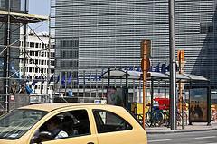 Many expats work in the European Quarter in Brussels