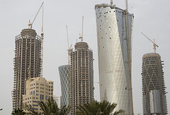 The construction industry employs thousands of workers in Qatar