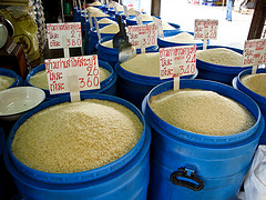 cost of rice in Thailand