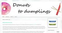 Donuts to Dumplings - An expat blog in China