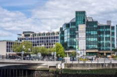 The Convention Centre Dublin hosts major business conferences in Ireland