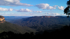 Blue Mountains is a popular tourist spot in Sydney