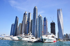 Dubai Marina - Expat salaries in the Middle East