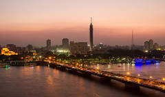 The Nile through Cairo, Living in Egypt, Moving to Egypt