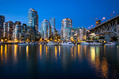 Vancouver skyline - Moving to Vancouver