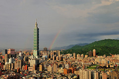 City skyline of Taipei - Moving to Taipei