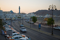 Transport and driving in Oman