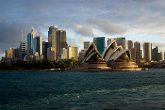 Sydney Opera House - A must see for backpackers in Sydney