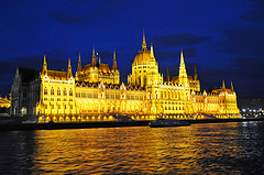 The Hungarian Parliament Building is a popular destination for expats in Hungary