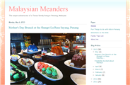 Malaysian Meanders - An expat blog in Malaysia