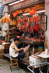 Wet Market in Hong Kong - source of culture shock