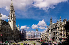 Grand Place, Brussels - Moving to Belgium