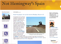 Not Hemingway's Spain - An expat blog in Spain