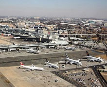 OR Tambo Airport by Pretoria Travel