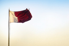 National Flag of Qatar by Juanedc