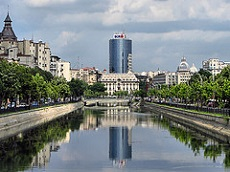 Bucharest is the centre of business in Romania