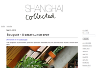 Shanghai Collected an expat blog in China