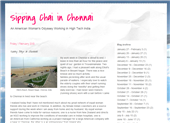 Sipping Chai in Chennai - An American expat's blog in India