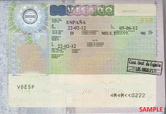 A Schengen visa for Spain